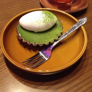 抹茶の生チョコタルト(sugar tree)