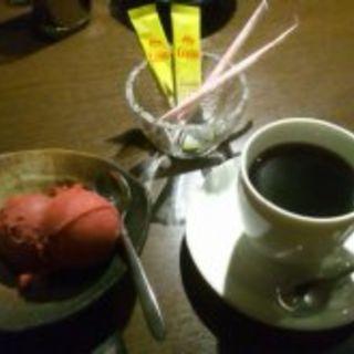 カシスアイス(炭火焼肉・海鮮・地酒 かりん  )