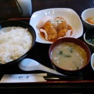 エビチリ定食(新喜)