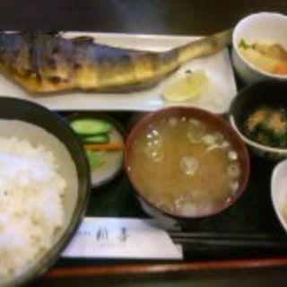 ホッケ定食(新喜)