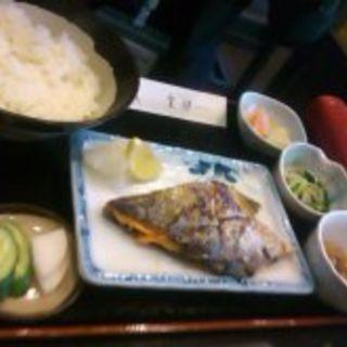 焼き鮭定食(新喜)