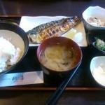 焼き鯖定食(新喜)