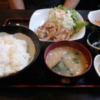 生姜焼き定食(新喜)