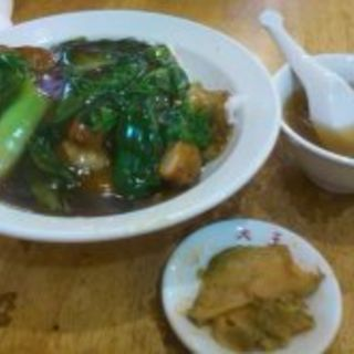 パイコー飯(中華つけ麺大王)