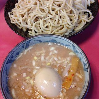 つけ麺普通 ヤサイニンニク+味玉(ラーメン二郎 歌舞伎町店 (らーめんじろう))