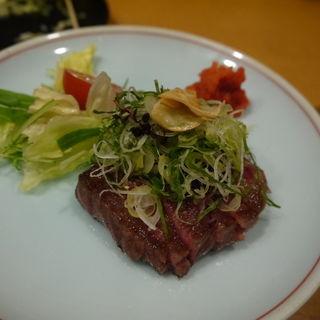和牛の短冊ステーキ(万松 (ばんしょう))