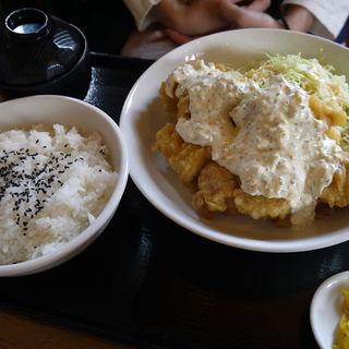 チキン南蛮定食 (カフェメルス 尾張旭店 )