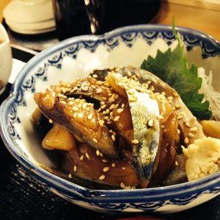 ごまサバ定食(どんとこい )