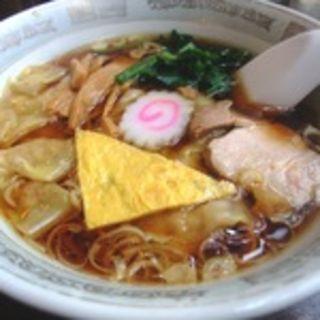 ワンタン麺(萬福)