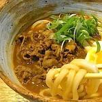 牛煮込みカレーうどん(うどん山長)