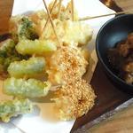 串天ぷら五種盛り合わせ