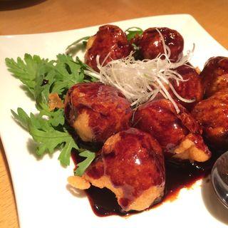 黒酢の酢豚(jeeten)