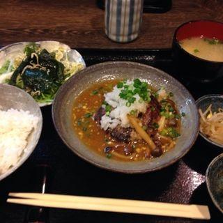 おろしハンバーグ定食(すまっしゅ )