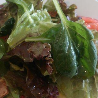 ランチセットのサラダ(カフェ    イル      レガーロ)