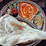 Dセット カリー(選べるカリー1種類)ナンor白飯orサフランライス