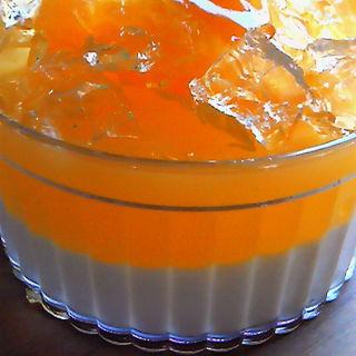 オレンジゼリー(Cafe 傳 (カフェ・デン))