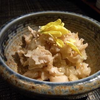 博多名物・酢モツ(なぎの木・麻布十番店)