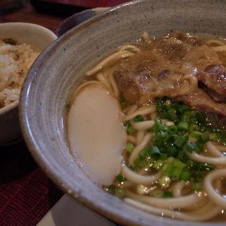 ソーキそば定食(沖縄地料理 波照間 ラゾーナ川崎店)