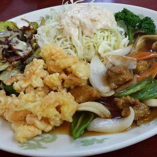 ランチ(A定食)(雁飯店)
