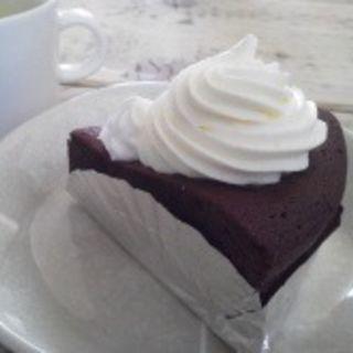 ガトーショコラ(Cafe 傳)