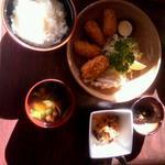 カキフライ定食(みづ乃 )