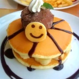 チョコバナナパンケーキ(パンケーキデイズ 原宿店 )