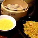 Aランチ 小籠包3ヶ+炒飯
