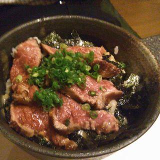 黒毛和牛タタキ丼(肉のきっしゃん 本店 (ニクノキッシャン))