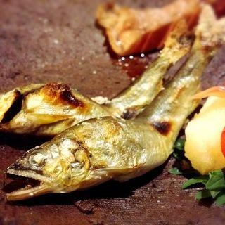鮎の塩焼き(GINZA 水野 (ギンザ ミズノ))