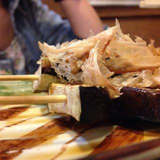 ナスの串焼きタレ(こっこ屋)