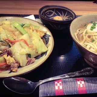 沖縄ちゃんぽん沖縄そばセット(やちむん 東京支店 )