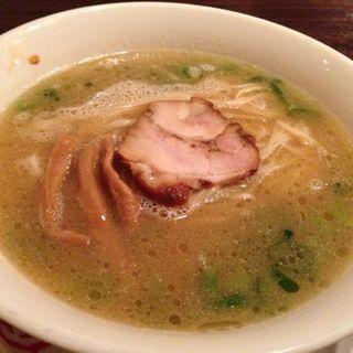 鶏コク醤油ラーメン(信州松本 麺肴ひづき 湯きりや )