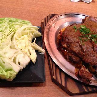 鶏ももの文蔵焼き(鍛冶屋文蔵 飯田橋店 (かじや ぶんぞう))