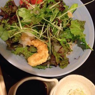 サラダ蕎麦(泉匠 (せんしょう))