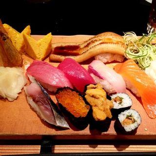 特選びっくり握りセット(びっくり寿司)