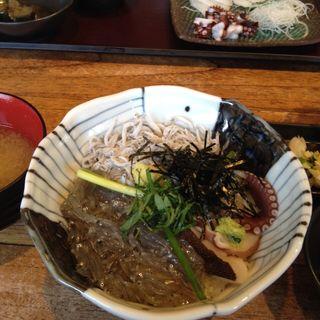 湘南しらす二色丼(しらすや 腰越漁港前店)