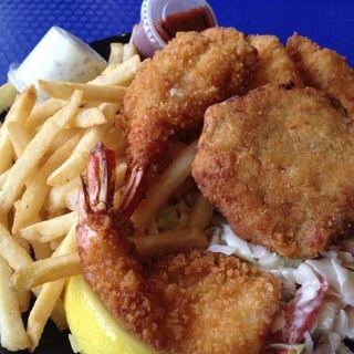 フィッシュ&チップス(Point Loma Seafoods)