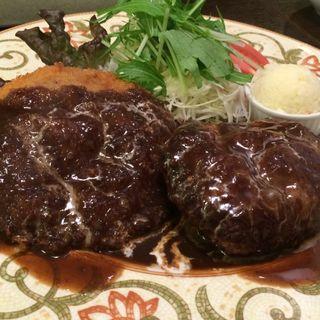 メンチカツ&ハンバーグ(レストラン 山猫軒 (レストラン・ヤマネコケン))