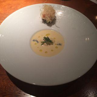 冷たいコーンスープ(麻布淺井 )