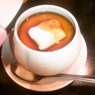 ふぐ白子茶碗蒸し(ふぐ一期一会 (いちごいちえ))