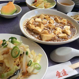 麻婆豆腐ランチ(愛蓮 門戸店 (アイレン))
