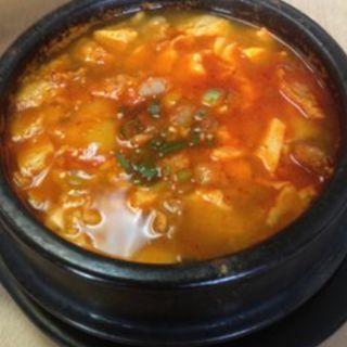 ポークスンドゥブ(Manna Korean Restaurant)