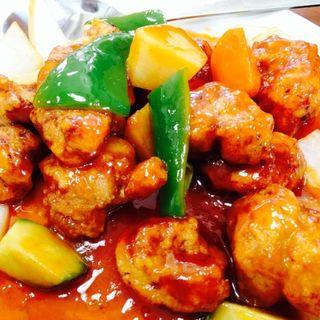 酢豚定食(栄楽 )