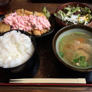 チキン南蛮(佐賀県三瀬村ふもと赤鶏 八重洲店 )