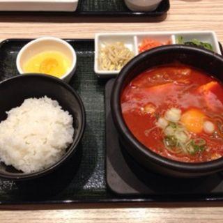 チーズスンドゥブ(東京純豆腐 ユニバーサルシティ・ウォーク店 )