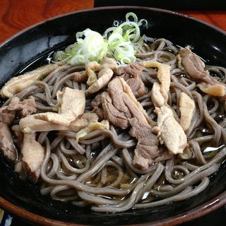 冷たい肉そば(一寸亭支店)