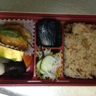 500kcal弁当(豆富バーグ)(ちょこ菜)