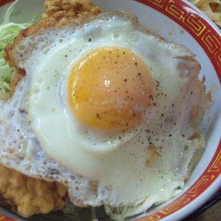 唐揚げ丼ぶり(餃子屋麺壱番館 )