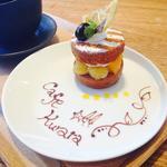 ケーキセット(カフェくらた)