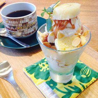 ドリンク&ミニデザートセット(カフェくらた)